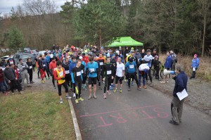 Běh okolo Blanska - start